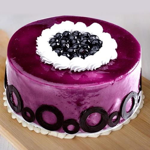 Pleasurable Blueberry Flavor Cake