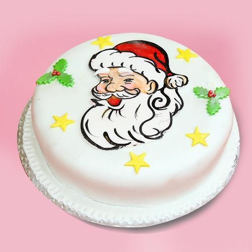 Delightful Gift of 5 Star Bakery Vanilla Cake