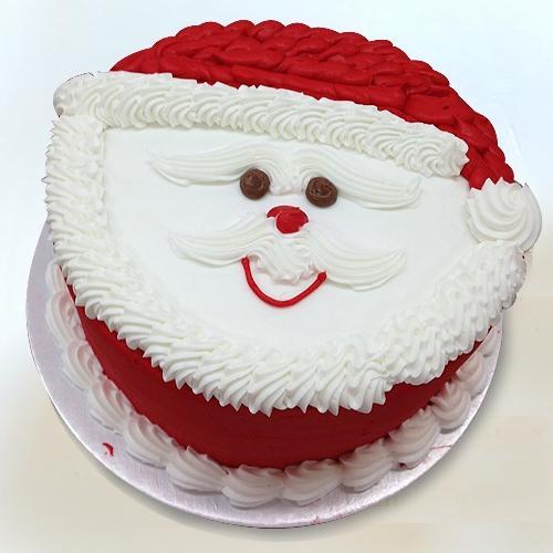 Wholesome Santa Claus Fondant Theme Cake