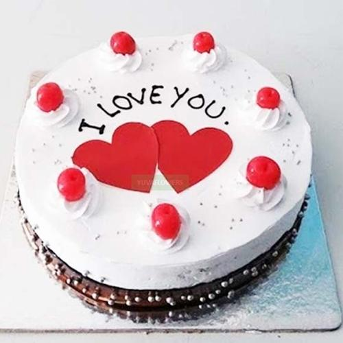 Appealing Propose Day Special Black Forest Cake