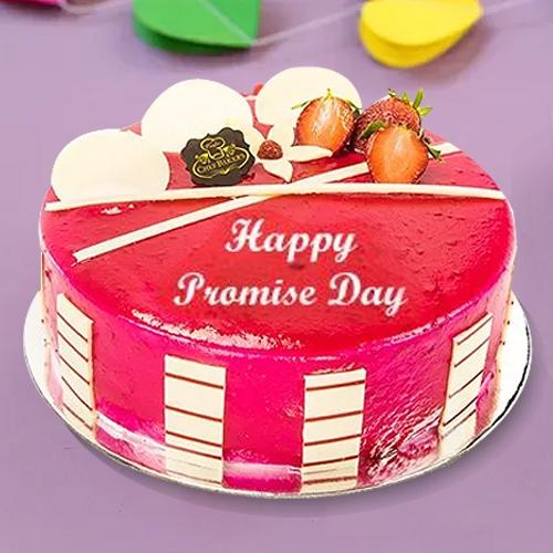 Moist Promise Day Special Strawberry N Fresh Fruit Fusion Cake