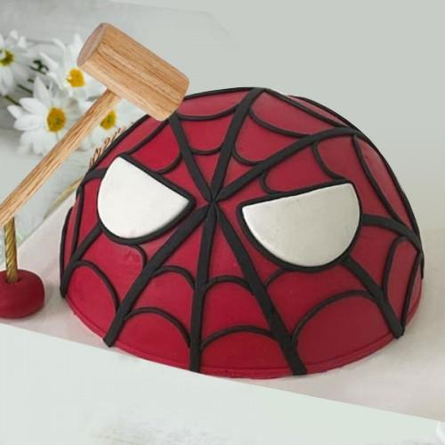 Exclusive Spiderman Smash Cake for Kids
