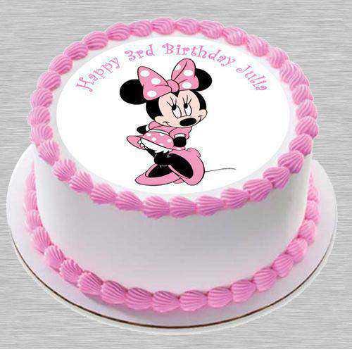 Caramelized Kids Party Special Minnie Cake