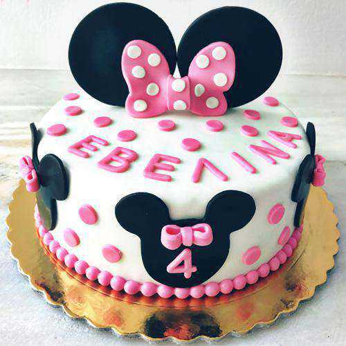 Enjoyable Minnie Mouse Cake for Small Kids