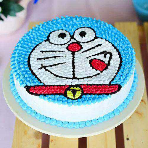 Gratifying Kids Party Special Doremon Cake