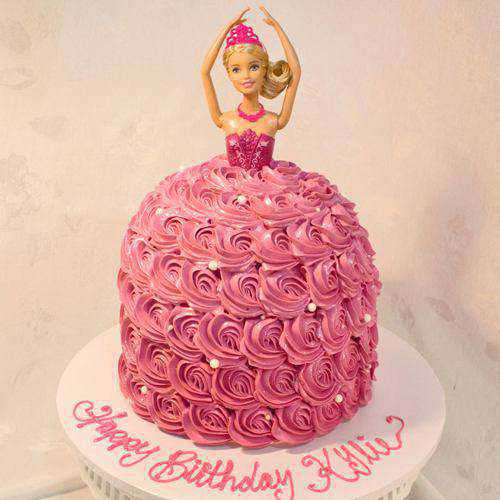 Lip-Smacking Barbie Special Cake for Kids