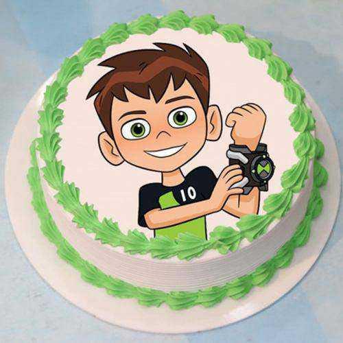 Lip-Smacking Ben 10 Cake for Birthday