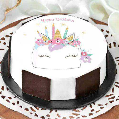 One-of-a-Kind Unicorn Cake for Youngster