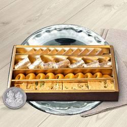 Haldirams Assorted Sweets N Thali , Free Coin