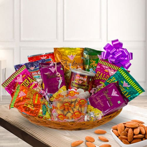 Mouthwatering Haldirams Assortments Gift Hamper