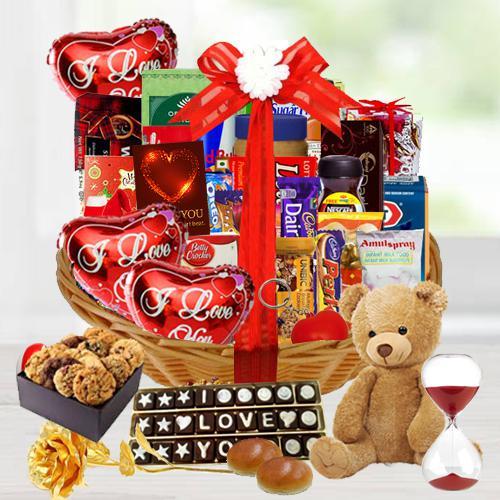 Embrace the Gorgeous Season Valentine Basket