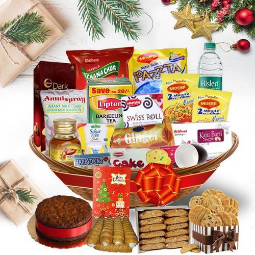 Enjoy the Christmas Attractive Gift Hamper