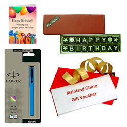 Astonishing Present of Mainland China Gift Voucher worth Rs.1000