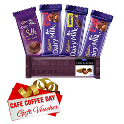 Lip-Smacking Cadbury Assortment and CCD Gift Voucher