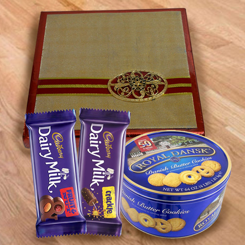Exclusive Mixed Dry Fruits with Cookies N Chocolates