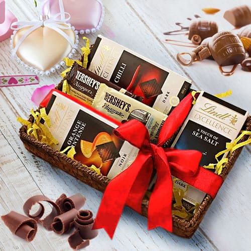Luxurious Chocolate Lovers Gift Basket