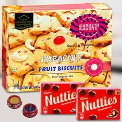 Karachis Fruit Biscuit with Nutties