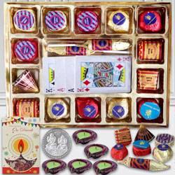 Assorted Handmade Chocolates n Playing Cards
