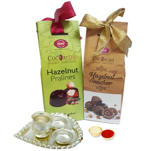 Hazelnut Chocolates Duet from Karachi Bakery