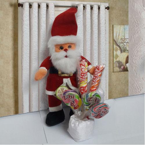 Stylish Santa Claus with Zubi Candies