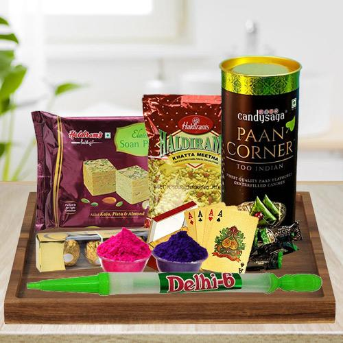 Pleasing Holi Gifts Hamper