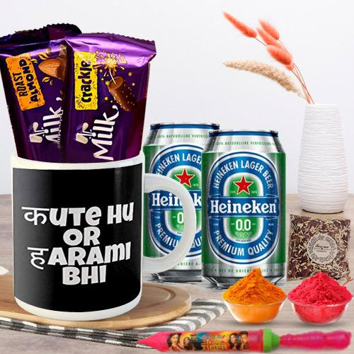 Special Holi Gifts - Teasing Quote Coffee Mug n Gifts
