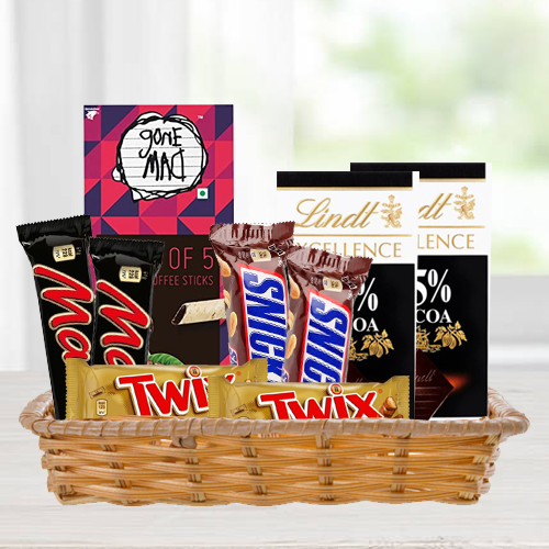 Delightful Gift Hamper of Chocolate Assortments