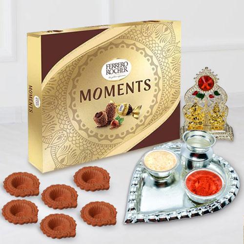 Amusing Diwali Gift with Ferrero Rocher Chocolates