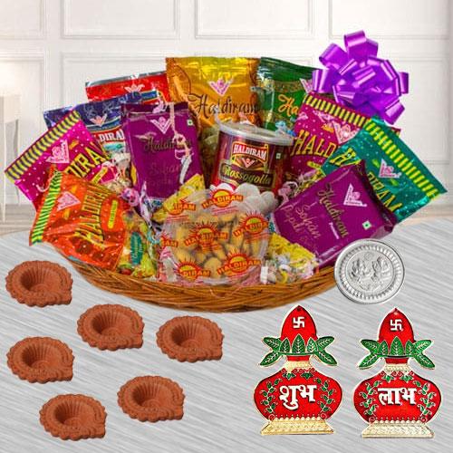 Remarkable Diwali Sweets n Snack Hamper from Haldiram