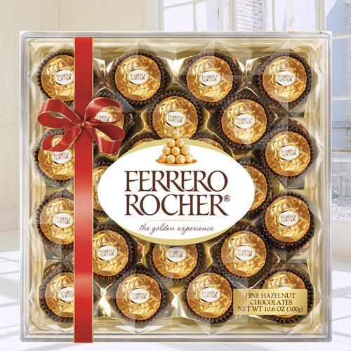 Mouth-Watering Ferrero Rocher Chocolate Box