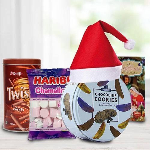 Yummy Cookies, Wafers N Marshmellos Combo