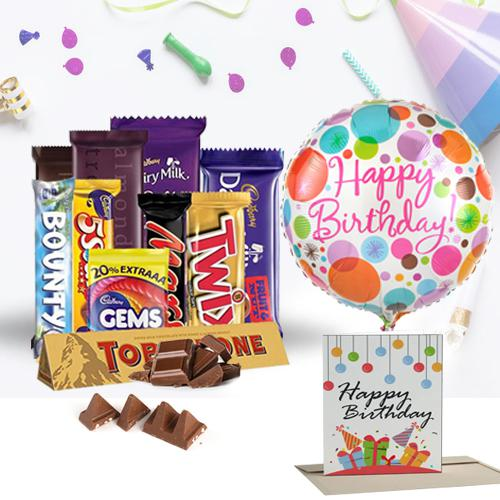 Enticing Chocos Gift Hamper