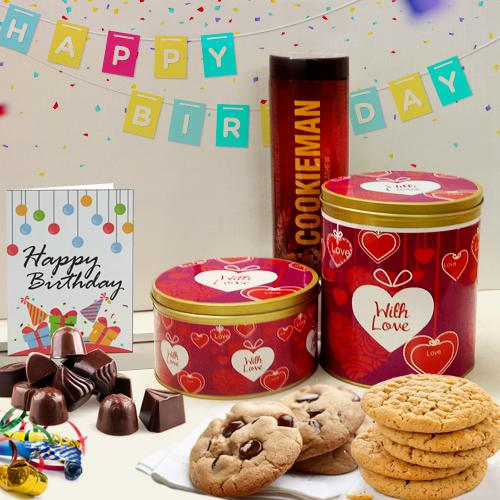 Tasty Imported Cookies N Chocolates Combo