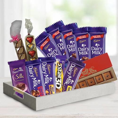 Awesome 5th Years Valentine Special Chocolate Hamper