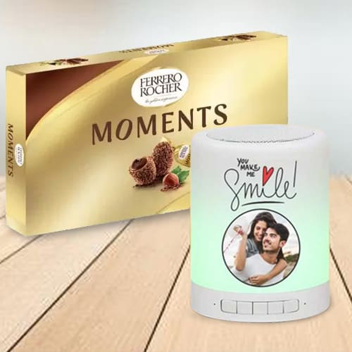 Amazing Personalized Photo Bluetooth Speaker n Ferrero Rocher