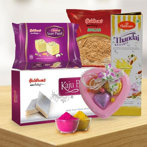 Enticing Haldirams Gift Hamper for Holi