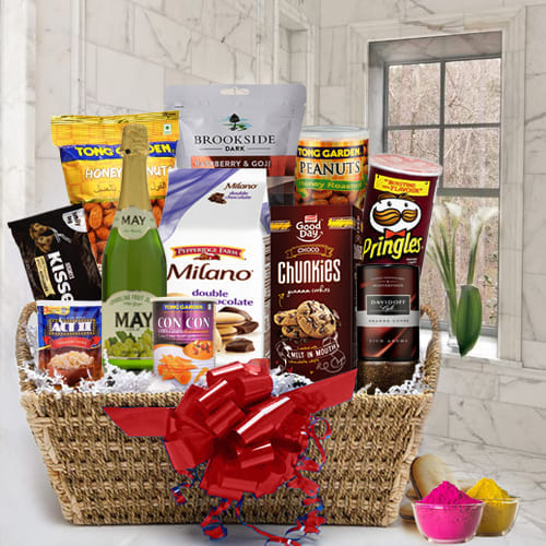 Remarkable Festival of Colors Food Assortments Gift Hamper