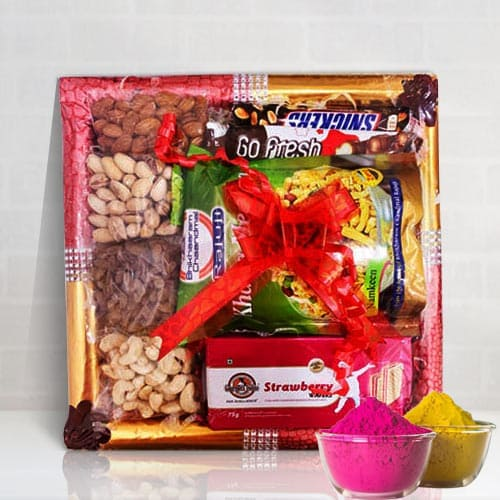 Blissful Dry Fruits n Assortments Fusion Gift Tray