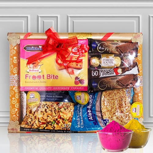 Exclusive Sweet n Sour Fusion Gift for Holi