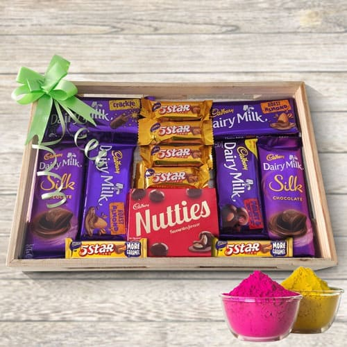 Sumptuous Mouth-Watering Mixed Chocolates Gift Tray