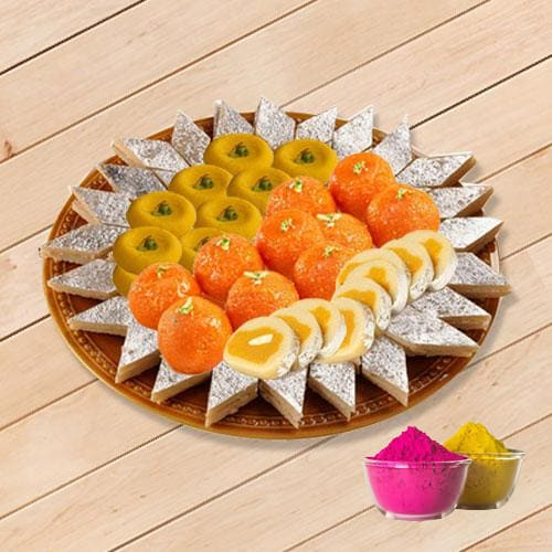 Enticing Assorted Sweets from Bhikaram