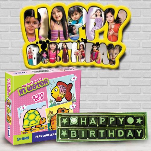 Attractive Personalized Kids Birthday Gift Combo