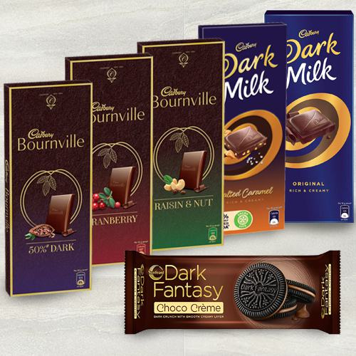 Devilishly Good Cadbury n Sunfeast Chocolates Gift Hamper