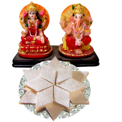 Ganesh Lakshmi with Chocopie