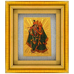 Wonderful Radha Krishna Photo Frame