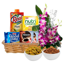 Online Gift Basket of Healthy Gourmets