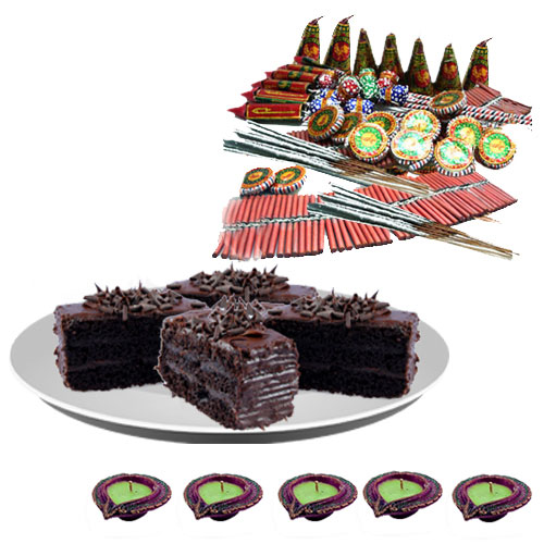 Assorted Fire Crackers n Chocolate Pastries