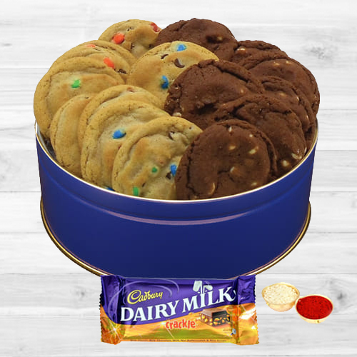 Dairy Milk Crackle N Cookies Combo