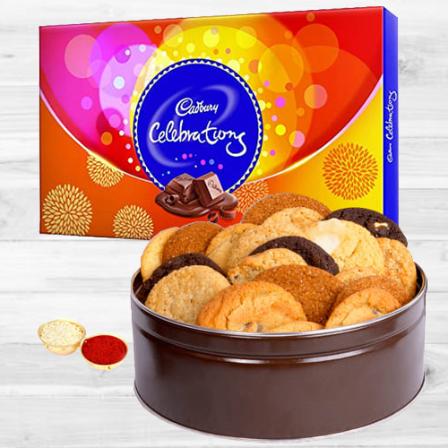 Cadbury Celebrations N Assorted Cookies Combo
