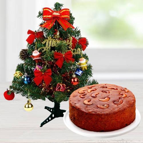 Christmas Tree N Cake